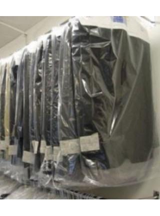 Упаковочный пакет для одежды прозрачный полиэтиленовый ( ПВД ) 15 мкм 650 х 1000 мм.