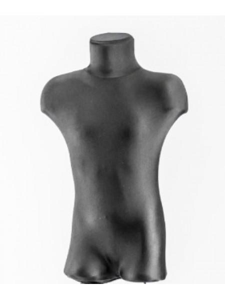 Тканевый чехол для детских манекенов черный