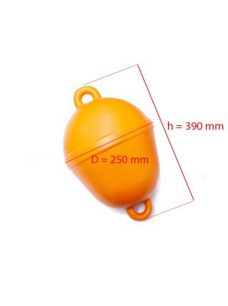 Буй маркерный оградительный оранжевый 250 мм.
