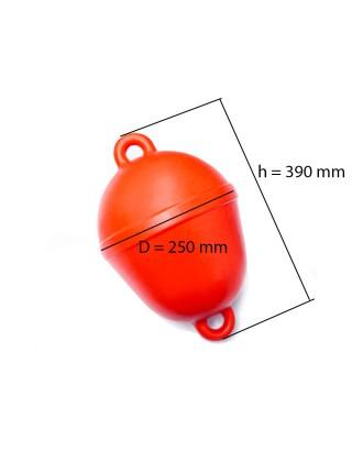 Буй маркерный оградительный красный 250 мм.