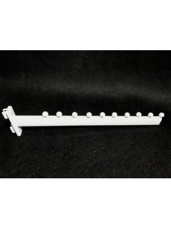 Навесной элемент флейта на панель белая Дека 45см.