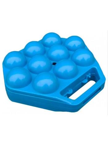 """Лоток пластиковый с ручкой для 10 яиц тип 1  тм """"К"""""""