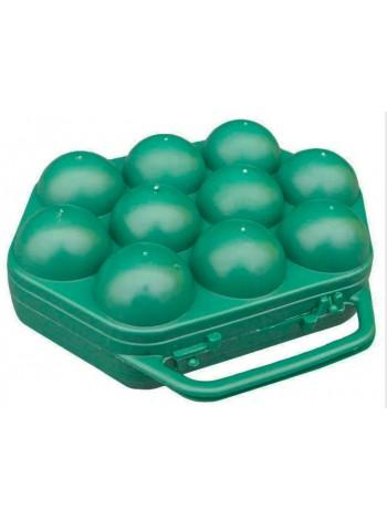 """Лоток пластиковый с ручкой для 10 яиц тип 2  тм """"К"""""""