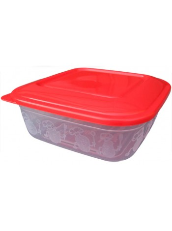 """Пищевой контейнер пластиковый ( судок ) 0,7 л  тм """"ПА"""""""