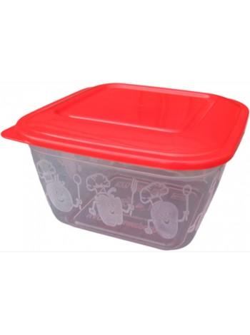 """Пищевой контейнер пластиковый ( судок ) 1 л  тм """"ПА"""""""