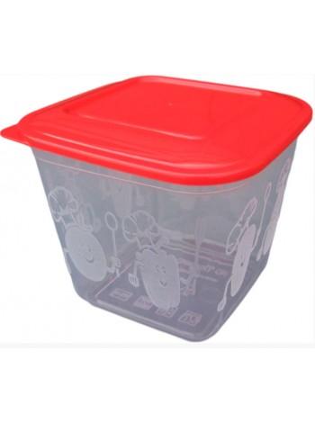 """Пищевой контейнер пластиковый ( судок ) 1,5 л  тм """"ПА"""""""