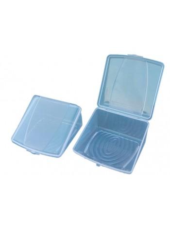 """Треугольный контейнер пластиковый для сыра / торта  тм """"К"""""""