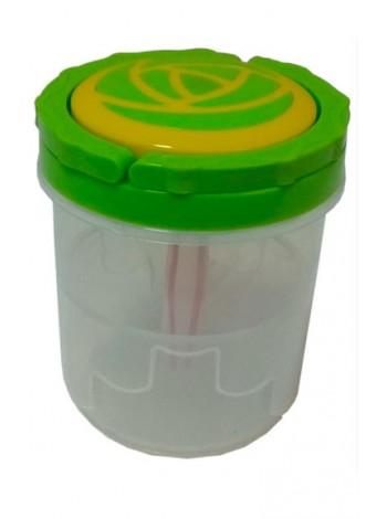 """Контейнер ( банка) для солений 1,3 л пластиковый тм """"К"""""""