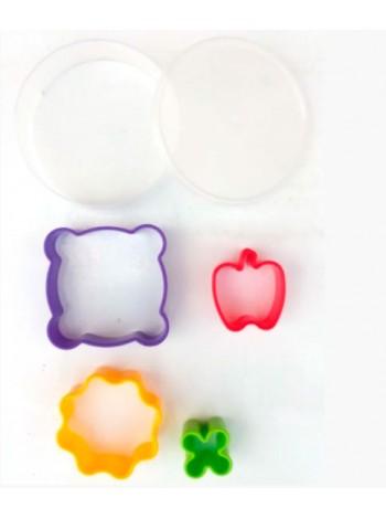 """Набор пластиковых формочек (4) для печенья  тм """"К"""""""