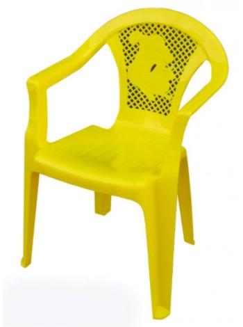 """Кресло пластиковое детское цветное тм """"ПА"""""""
