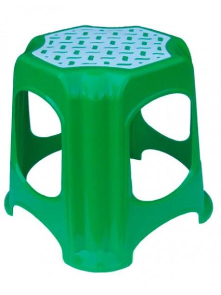 """Табурет пластиковый зеленый малый тм """"Г"""""""