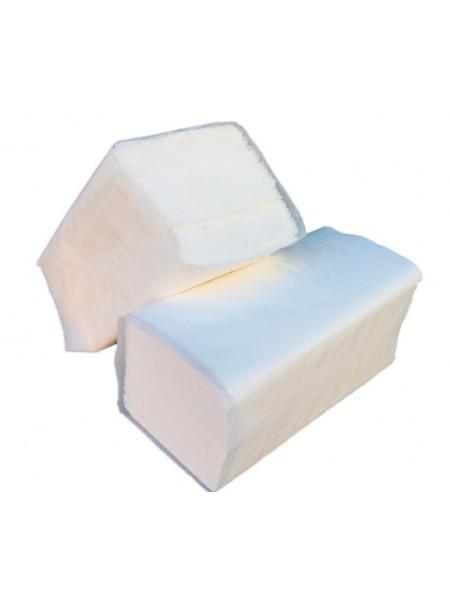 """Бумажные полотенца белые для диспенсеров (V-сложение),  тм """"G"""""""