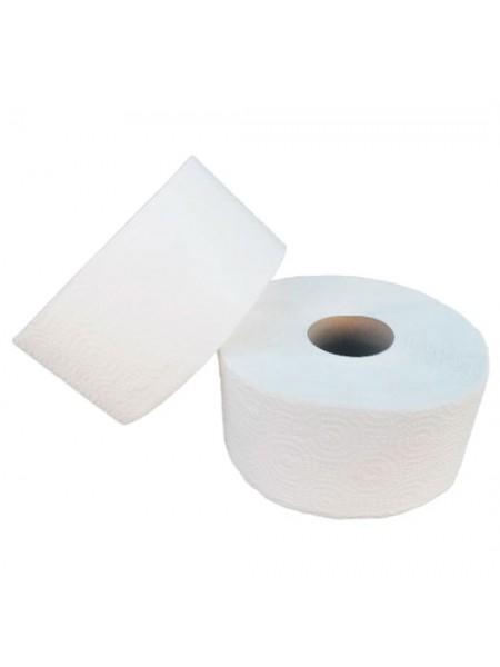 """Туалетная бумага """"Джамбо"""" двухслойная с перфорацией  100% целлюлоза, 100 метров  тм """"G"""""""