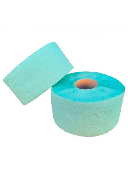 """Туалетная бумага """"Джамбо"""" однослойная зеленая с перфорацией , 100 метров  тм """"G"""""""