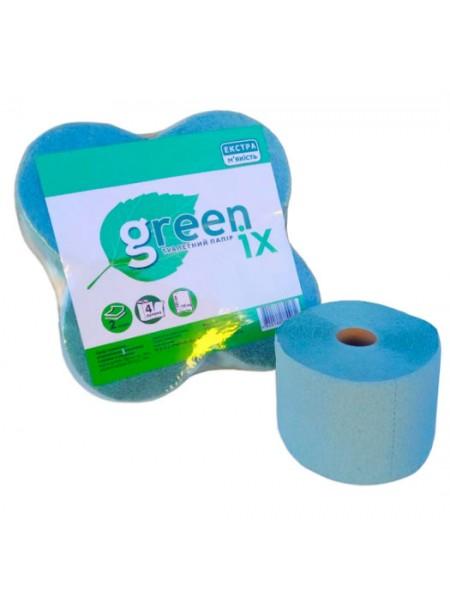 """Туалетная бумага двухслойная с перфорацией цветная 4 х 30 метров  тм """"G"""""""