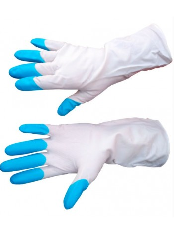 """Перчатки резиновые """"Дельфин"""" размер L (пара)"""