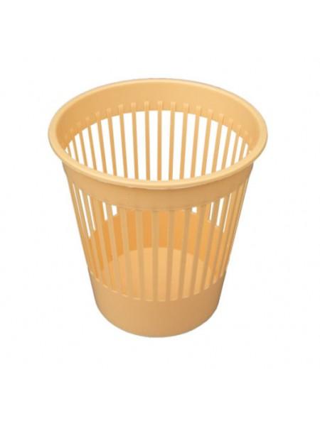 "Корзина для мусора пластиковая цветная 10 л тм ""Г"""