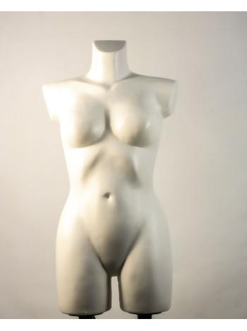 Венера белая матовая с креплениями для двойной подставки