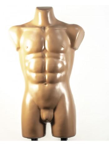 Давид телесный с креплениями для двойной подставки