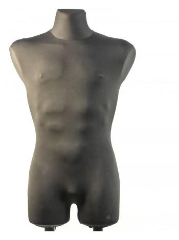 Давид в ткани с креплениями для двойной подставки