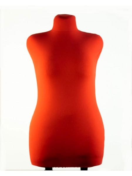 Манекен брючный портновский красный модель Любовь 48 размер