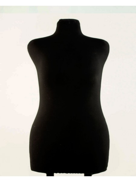 Манекен брючный портновский черный модель Любовь 52 размер