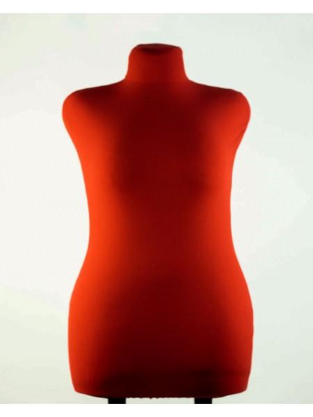 Манекен брючный портновский красный модель Любовь 52 размер