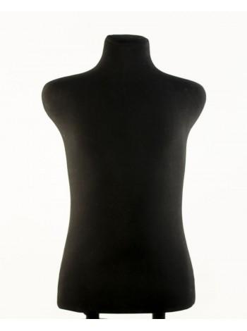 Манекен брючный портновский черный модель Пьер 48 размер