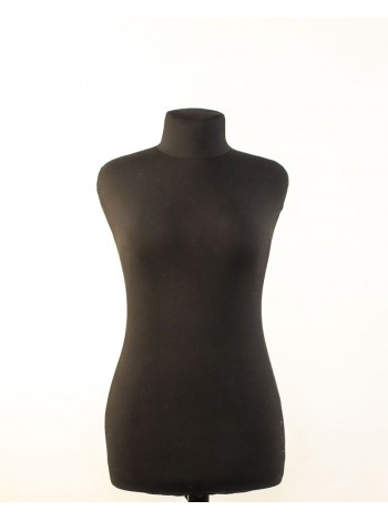 Манекен портновский черный полумягкий модель Любовь 42
