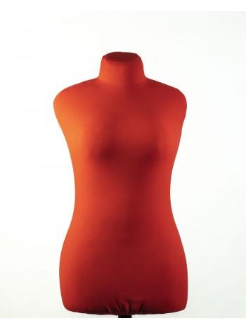 Манекен для пошива одежды Любовь 46 красный мягкий