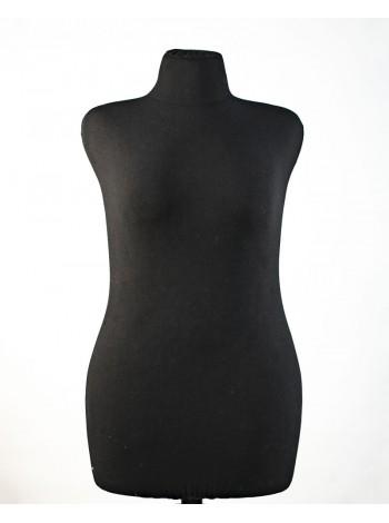 Манекен портновский полумягкий черный Любовь 50 размер