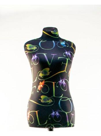 Манекен Любовь 44 дизайнерский с абстракцией flower