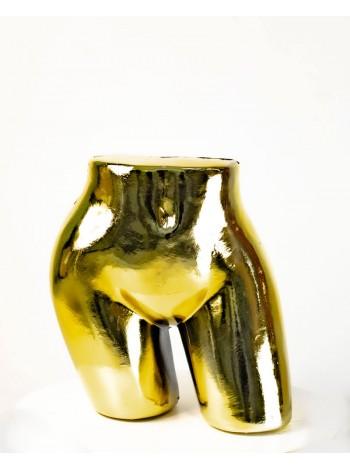 Бедра женские объемные блестящие (золото)