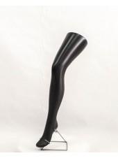 Манекен нога женская под колготу черная
