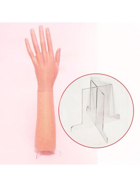Подставка для коротких манекенов рук женских (до локтя)