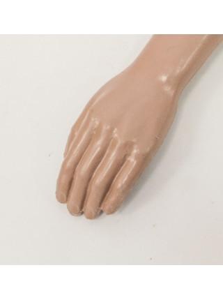 Манекен рука левая мужская телесная до плеча