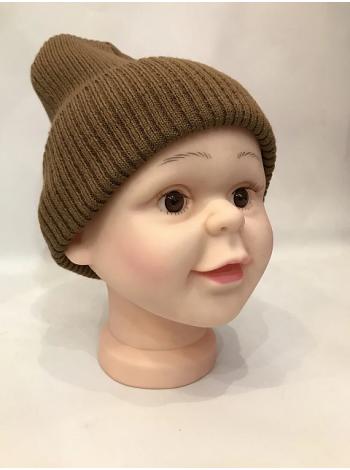 Манекен голова детская реалистичная силиконовая, обьем головы 48 см