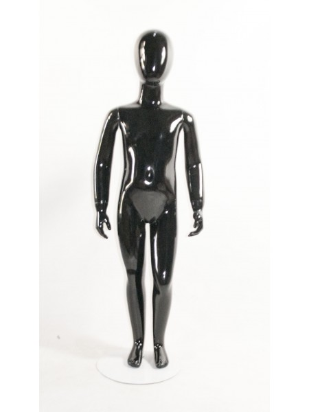 Детский черный глянцевый Аватар (H-12) 110 см.