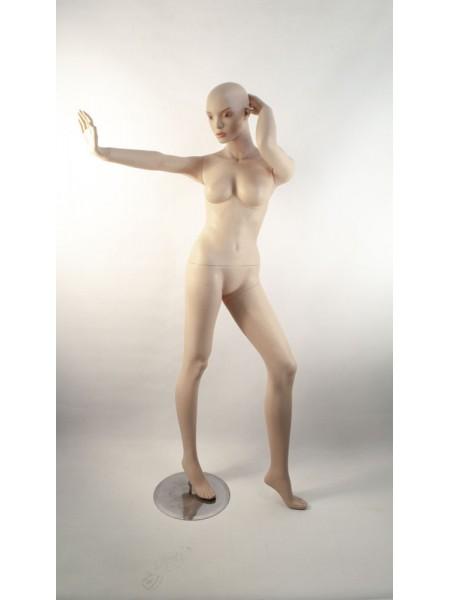 Манекен женский реалистичный Q 27 танцующая телесная