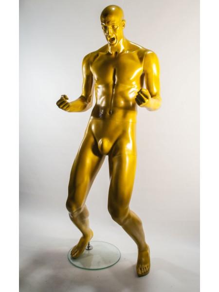 Манекен мужской K 31 тусовщик (желтый)