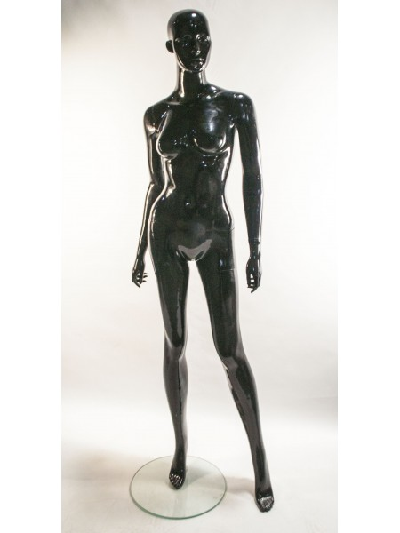Женский манекен PU-19/3 черный Cl-1
