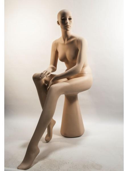 Манекен женский сидячий Q-24