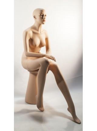 Манекен женский сидячий Q24-33