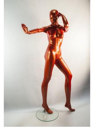 Манекен женский Q 27 танцующая терракот