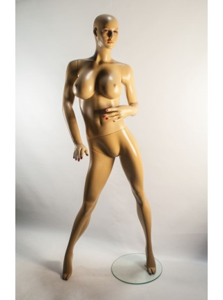 Манекен женский реалистичный с большой грудью S4-76