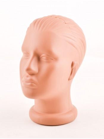 Голова женская телесная