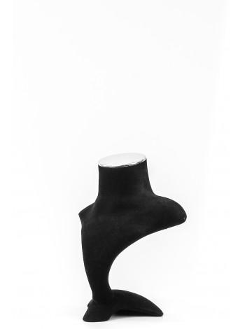 Бюст для украшений флок с заглушкой