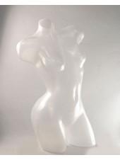 Манекен Венера изогнутая полупрозрачная