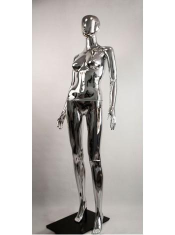 Манекен женский металлизированный Сиваян Аватар (платина)