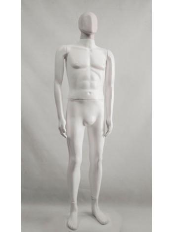 Манекен мужской Сенсей белый матовый аватар без подставки